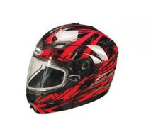 Шлем GM54S MODULATOR HELMENT BLACK-RED-SILVER